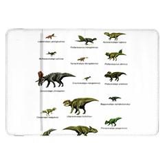 Dinosaurs Names Samsung Galaxy Tab 8 9  P7300 Flip Case by Valentinaart