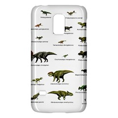 Dinosaurs Names Galaxy S5 Mini by Valentinaart