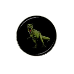 Dinosaurs T Rex Hat Clip Ball Marker (10 Pack) by Valentinaart