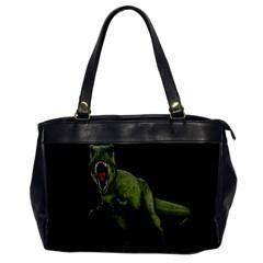 Dinosaurs T Rex Office Handbags by Valentinaart