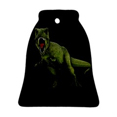 Dinosaurs T Rex Bell Ornament (two Sides) by Valentinaart