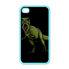 Dinosaurs T Rex Apple Iphone 4 Case (color) by Valentinaart