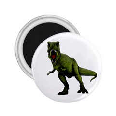 Dinosaurs T Rex 2 25  Magnets by Valentinaart