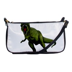 Dinosaurs T Rex Shoulder Clutch Bags by Valentinaart