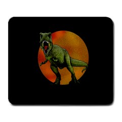 Dinosaurs T Rex Large Mousepads by Valentinaart