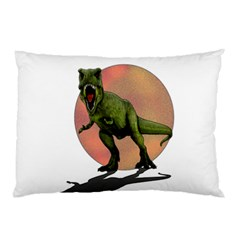 Dinosaurs T Rex Pillow Case (two Sides) by Valentinaart