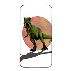 Dinosaurs T Rex Apple Iphone 4/4s Seamless Case (black) by Valentinaart