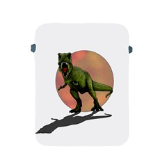 Dinosaurs T Rex Apple Ipad 2/3/4 Protective Soft Cases by Valentinaart
