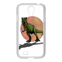 Dinosaurs T Rex Samsung Galaxy S4 I9500/ I9505 Case (white) by Valentinaart