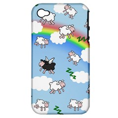 Sweet Dreams  Apple Iphone 4/4s Hardshell Case (pc+silicone) by Valentinaart
