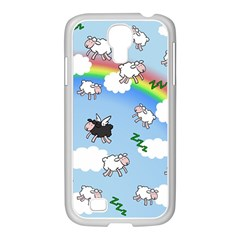 Sweet Dreams  Samsung Galaxy S4 I9500/ I9505 Case (white) by Valentinaart