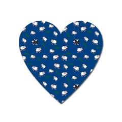 Sweet Dreams  Heart Magnet by Valentinaart