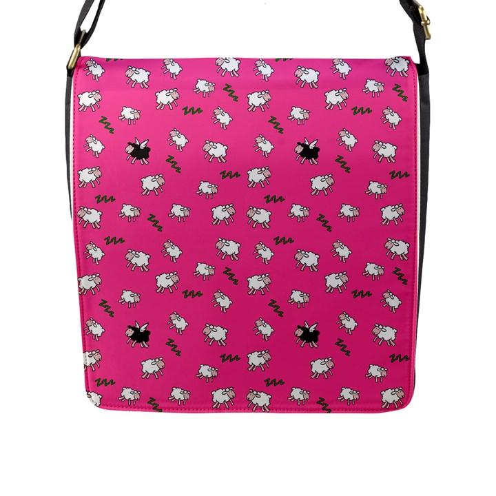 Sweet dreams  Flap Messenger Bag (L)