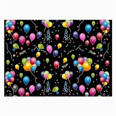Balloons   Large Glasses Cloth by Valentinaart