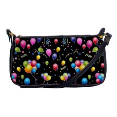 Balloons   Shoulder Clutch Bags by Valentinaart