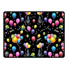 Balloons   Fleece Blanket (small) by Valentinaart