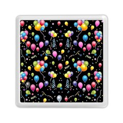 Balloons   Memory Card Reader (square)  by Valentinaart