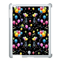 Balloons   Apple Ipad 3/4 Case (white) by Valentinaart