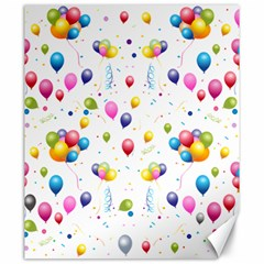 Balloons   Canvas 20  X 24   by Valentinaart