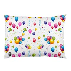 Balloons   Pillow Case (two Sides) by Valentinaart