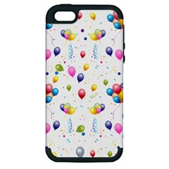 Balloons   Apple Iphone 5 Hardshell Case (pc+silicone) by Valentinaart