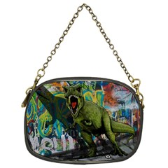 Urban T Rex Chain Purses (two Sides)  by Valentinaart