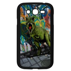 Urban T Rex Samsung Galaxy Grand Duos I9082 Case (black) by Valentinaart