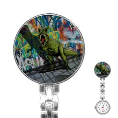 Urban T Rex Stainless Steel Nurses Watch by Valentinaart