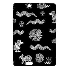 Aztecs Pattern Amazon Kindle Fire Hd (2013) Hardshell Case by Valentinaart