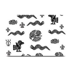 Aztecs Pattern Plate Mats by Valentinaart