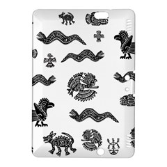 Aztecs Pattern Kindle Fire Hdx 8 9  Hardshell Case by Valentinaart