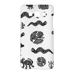Aztecs Pattern Samsung Galaxy A5 Hardshell Case  by Valentinaart