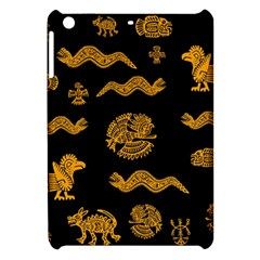 Aztecs Pattern Apple Ipad Mini Hardshell Case by Valentinaart
