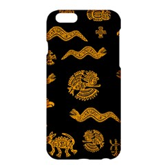Aztecs Pattern Apple Iphone 6 Plus/6s Plus Hardshell Case by Valentinaart