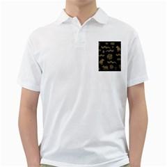 Aztecs Pattern Golf Shirts by Valentinaart