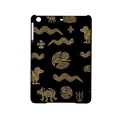 Aztecs Pattern Ipad Mini 2 Hardshell Cases by Valentinaart