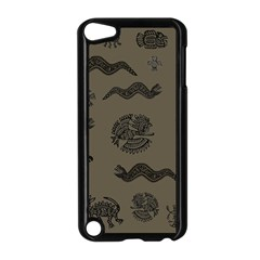 Aztecs Pattern Apple Ipod Touch 5 Case (black) by Valentinaart