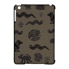 Aztecs Pattern Apple Ipad Mini Hardshell Case (compatible With Smart Cover) by Valentinaart