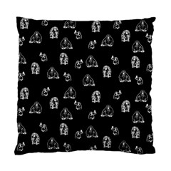 Chimpanzee Standard Cushion Case (two Sides) by Valentinaart