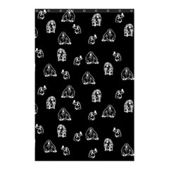 Chimpanzee Shower Curtain 48  X 72  (small)  by Valentinaart