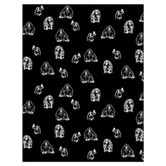 Chimpanzee Drawstring Bag (large) by Valentinaart