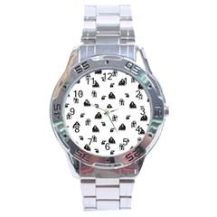 Chimpanzee Stainless Steel Analogue Watch by Valentinaart