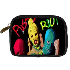 Pussy Riot Digital Camera Cases by Valentinaart