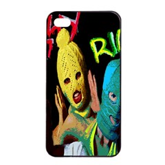 Pussy Riot Apple Iphone 4/4s Seamless Case (black) by Valentinaart
