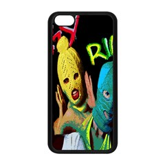 Pussy Riot Apple Iphone 5c Seamless Case (black) by Valentinaart