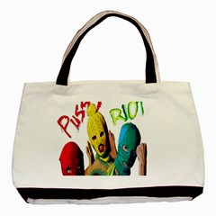 Pussy Riot Basic Tote Bag (two Sides) by Valentinaart
