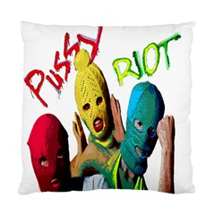Pussy Riot Standard Cushion Case (one Side) by Valentinaart