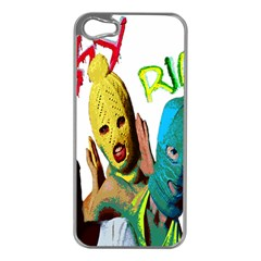 Pussy Riot Apple Iphone 5 Case (silver) by Valentinaart