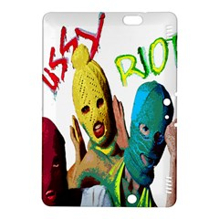 Pussy Riot Kindle Fire Hdx 8 9  Hardshell Case by Valentinaart