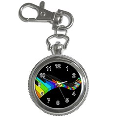 Rainbow Piano  Key Chain Watches by Valentinaart